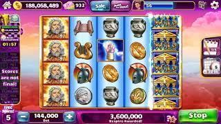"""ZEUS II Video Slot Casino Game with a """"BIG WIN"""" SUPER RESPIN BONUS"""