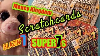 •CRACKING Scratchcard Game•MONEY KINGDOM•Holiday Cash.SUPER7's.BLAZIN'7's•LIKES for more tonight