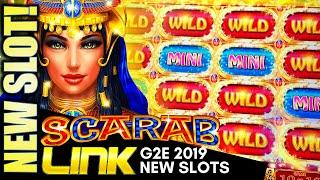 G2E 2019 NEW IGT SLOTS! (PART 1 OF 2) SCARAB LINK, FORTUNE COIN BOOST!, DRAGON LIGHTS Slot Machine