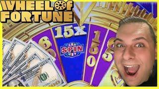 WHEEL of FORTUNE  GOLD SPIN  $10 BETS