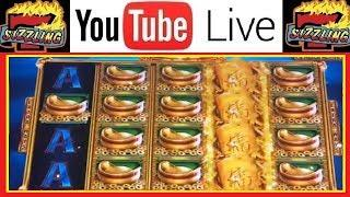NON-STOP BONUS SPINS on GOLD STACKS Casino Machine Videos with SIZZLING SLOT JACKPOTS