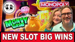 NEW SLOT  MONOPOLY MONEY GRAB!