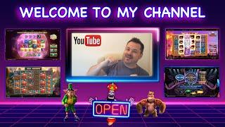 Welcome to my YouTube Channel ~ Stake and chips Slot Video Channel