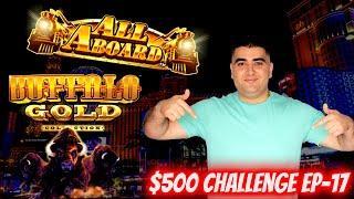 $500 Challenge To Win On Slots In Las Vegas ! EP-17