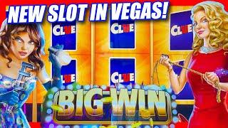 NEW CLUE SLOT IN LAS VEGAS PRODUCES SOME BIG WINS  TIME FOR WILDS FREE GAMES & CARD FEATURE BONUS