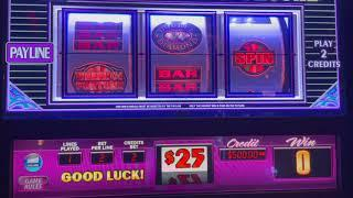 High Limit Slot Play - $75/Spin Crazy Jokers - $50/Spin Wheel Of Fortune