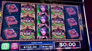 Tabasco - Sky Rider - High Limit Slot Play