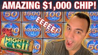 """MIGHTY CASH JACKPOT HANDPAY """"FROM THE VAULT""""! 