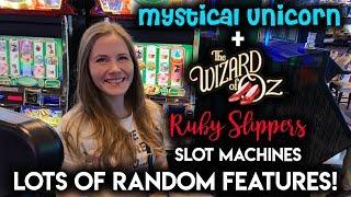 Nice Run on Wizard of Oz Ruby Slippers Slot Machine! Can I Get A Full Screen Just Once?