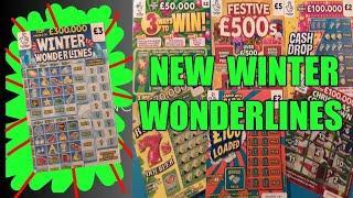 "NEW WINTER WONDERLINES""...FESTIVE £500s"".Christmas Countdown"".Ruby 7s Doublers""£100 Loaded""Cash Drop"