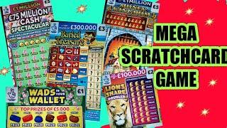 """MEGA GAME STARTS..MONEY KINGDOM""""CASH SPECTACULAR""""CASH 7s"""""""