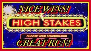 **LIGHTNING LINK HIGH STAKES** HOLD & SPIN NICE WINS!