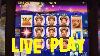 Shaman's Magic Live Play at max bet $2.50 Aristocrat Slot Machine