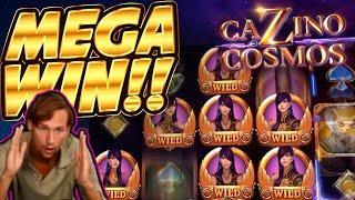 HUGE WIN!!! Cazino Cosmos BIG WIN - Casino game from Casinodaddy stream