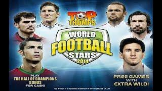 Top Trumps World Football Stars 2014 Online Slot from Playtech