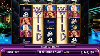 KENDRA ON TOP Video Slot Casino Game with a CHAMPAGNE FREE SPIN BONUS