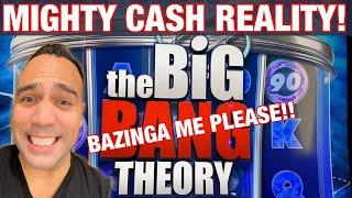 MIGHTY CASH!!!  Double UP ️ & BIG BANG THEORY  |   (Which game pays HUGE?!?!?)