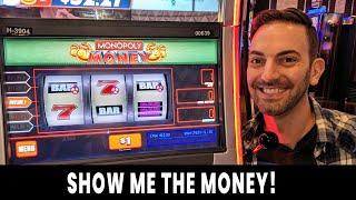 SHOW ME THE MONEY!  All HIGH LIMIT Monopoly Money  @ Hard Rock Atlantic City #ad