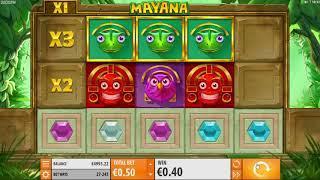 Mayana slot from Quickspin - Gameplay