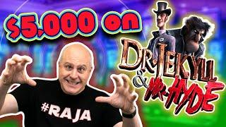 What Can I Hit with $5,000 on Dr. Jekyll & Mr. Hyde?  $60 SPINS!