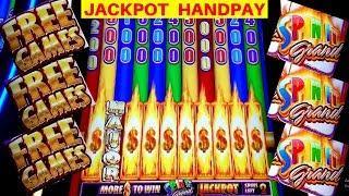 Spin It Grand JACKPOT HANDPAY | High Limit Slot Machine Big Handpay Jackpot | MUST WATCH | MEGA WIN