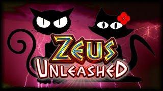 48 BONUS SPINS in ZEUS UNLEASHED •️ The Slot Cats •