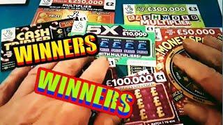 WINNERS...WINNERS...WINNER...FANTASTIC..WINNERS..SCRATCHCARDS