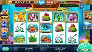 GOLD FISH Video Slot Casino Game with an EPIC WIN GOLD FISH FREE SPIN BONUS