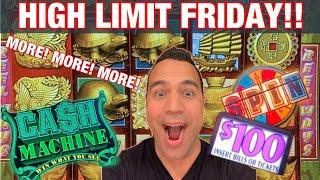 $4000 HIGH LIMIT FRIDAY!!! | 88 Fortunes Jackpot Handpay!!| $100 Wheel of Fortune!! |