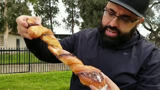 WORLD FAMOUS STRAWBERRY DONUT. IS IT THE BEST DONUT EVER? THE DONUT MAN REVIEW MUKBANG, GLENDORA CA