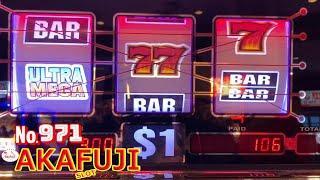 ULTRA MEGA Slot & SHAMROCK Slot 9 Line Max Bet@ Barona Resort Casino 赤富士スロット カリフォルニア カジノはベガスより熱い