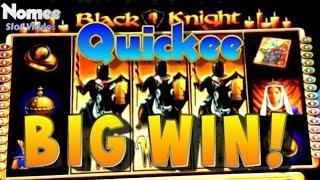 Black Knight Slot Machine - Locking Wilds Bonus - Big Win!