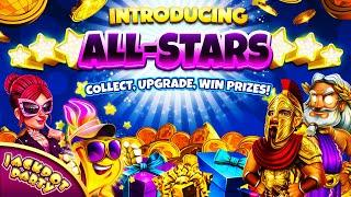 Collect, Upgrade, WIN! | Introducing All-Stars - Jackpot Party Casino Slots